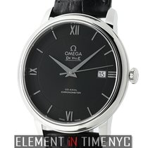 Omega De Ville Prestige Co-Axial 40mm Stainless Steel Black Dial