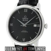 Omega De Ville Prestige Co-Axial 40mm Stainless Steel Black...