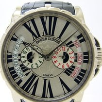 Roger Dubuis [NEW] Automatic White Gold Watch EX45 1448 0...