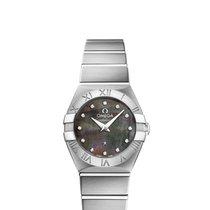 Omega 12310246057003 Constellation 24mm Quartz Ladies Watch