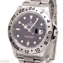 Rolex Explorer II Ref-16570 Stainless Steel Box Papers Bj-2008