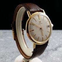 Omega Gents Watch / Date / Gold Cap / 1966