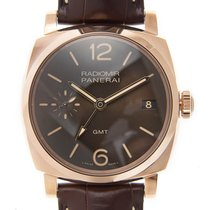 沛納海 (Panerai) New  Radiomir 18k Rose Gold Brown Automatic...