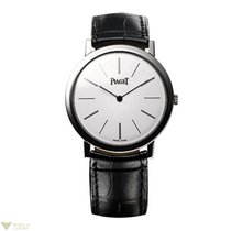 Piaget Altiplano Round 18K White Gold Men's watch
