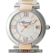 Chopard Imperiale Steel & 18k Rose Gold 40mm Mother Of...
