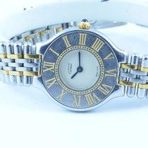 Cartier Ligne 21 Damen Uhr 28mm Stahl/stahl Quartz Rar