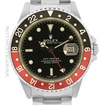 Rolex stainless steel GMT-Master