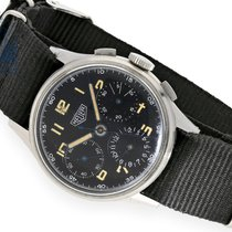 Heuer Wristwatch: very rare and early Heuer chronograph...