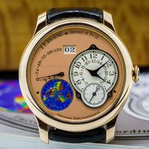F.P.Journe 040-UTC Octa UTC Rose Gold Silver Dial (25782)