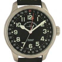 Zeno-Watch Basel Pilot Zeigerdatum Automatic 47mm Neu
