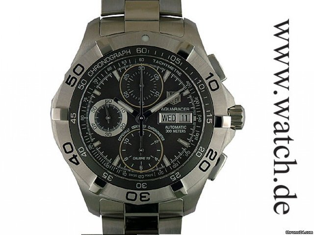 TAG Heuer Aquaracer Day Date Chronometer Chronograph 43mm