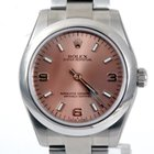 Rolex Midsize 31MM Oyster Perpetual No Date - Salmon Dial 177200