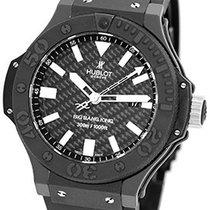 "Hublot Black Magic ""Big Bang King"" Strapwatch."