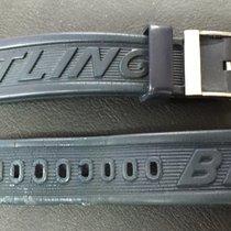 Breitling Original Genuine caucciu Strap Cinturino gomma buckle