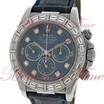 Rolex Cosmograph Daytona, Sodalite Diamond Dial, Baguette...
