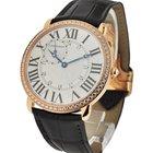 Cartier Ronde Louis Cartier Diamond Bezel