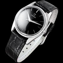 Omega 1958 Vintage Mens Dress Watch - Stainless Steel -...