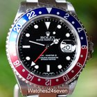 Rolex GMT Master II Pepsi Bezel Stainless P series 40mm