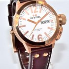 TW Steel CEO Canteen Watch 45mm Rose Tone White Dial