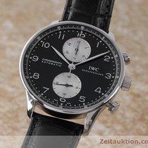 IWC Portugieser Chronograph Automatik Ref. 3714 Herrenuhr C.79240
