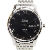 Omega Deville Stainless Steel Black Automatic 431.10.41.22.01.001