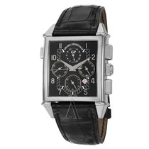 Girard Perregaux Men's Vintage 1945 Chronograph GMT Watch