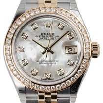 Rolex Lady-Datejust 28 Mother of Pearl/Diamonds Jubilee 279383RBR