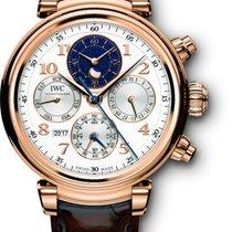 IWC Da Vinci Perpetual Calendar Chronograph Red Gold Watch