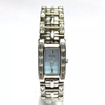 Bulova Stainless Steel Ladies Watch W/ Crystals & Gorgeous...