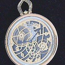까르띠에 (Cartier) 18K Yellow Gold Skeletonized Pocketwatch