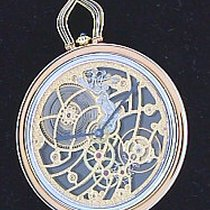 Cartier 18K Yellow Gold Skeletonized Pocketwatch