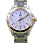 TAG Heuer Link WAT2150.BB0953 40mm Silver Index Yellow Gold...