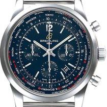 Breitling Transocean Chronograph Unitime Pilot,Ref. AB0510U9.C...
