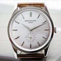 Patek Philippe 5196G-001 Calatrava 18K White Gold Manual Wind...