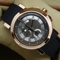 Breguet Marine Chronograph 5827BR 42mm Rose Gold Black Dial MINT