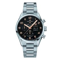 TAG Heuer Men's CV2A1AB.BA0738 Carrera Watch Auto Calibre...