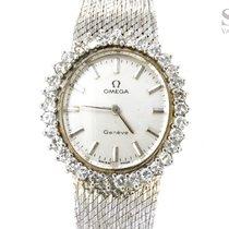 Omega 18K White Gold Diamonds
