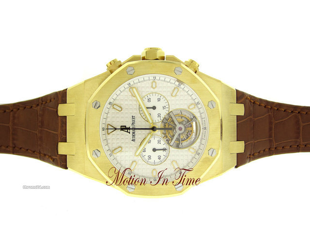 Audemars Piguet AP JUMBO ROYAL OAK TOURBILLON CHRONOGRAPH -YELLOW GOLD