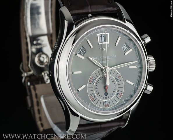 Patek Philippe Annual Calendar Chrono in Platinum 5960P