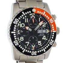 Zeno-Watch Basel Airplane Automatik Chronograph Day Date 45mm Neu