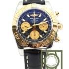 Breitling Chronomat 41 steel gold cb014012 onyx black 100% NEW