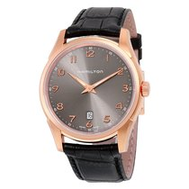 Hamilton Jazzmaster Men'sn H38541783 Thinline Grey Dial