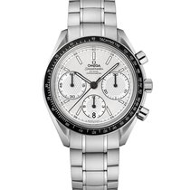 Omega Speedmaster Steel Silver Dial Automatic Chronograph Mens...