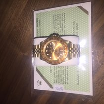 Rolex GMT MASTER 2 GELBGOLDJUBILEE BAND