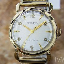 Bulova Rare Automatic Gold Plated Men's Vintage Swiss...