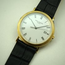 Patek Philippe Calatrava  3944 in 18k yellow gold W/date...
