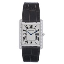 Cartier Tank Louis 18k White Gold Men's/Ladies Watch...
