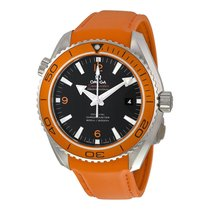 Omega Seamaster Planet Ocean Silicone Rubber Mens Watch...