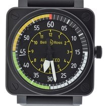 Bell & Ross Aviation Airspeed Black Stainless Steel