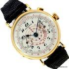 Rolex CHRONOGRAPH SINGLE BUTTON 37MM GOLD PORCELAIN DIAL...
